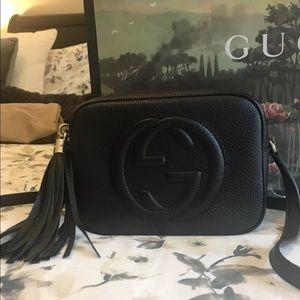 Gucci Soho Disco Bag Black